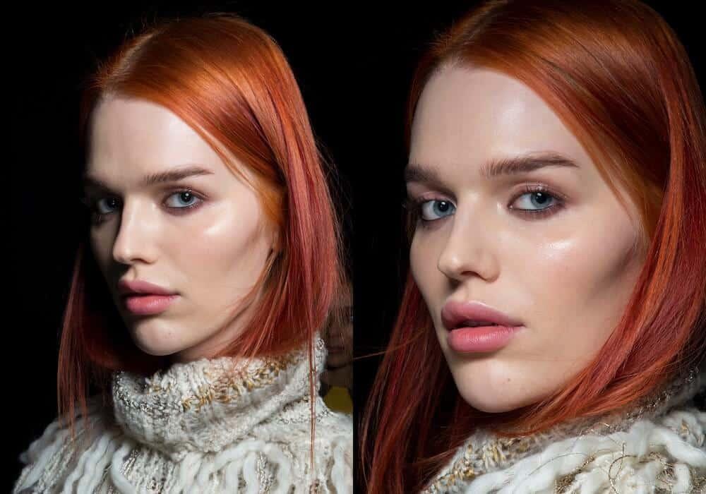 backstage capelli rossi inverno 2019-2020