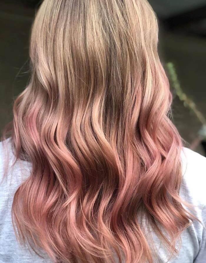 balayage rosa biondo estate 2019