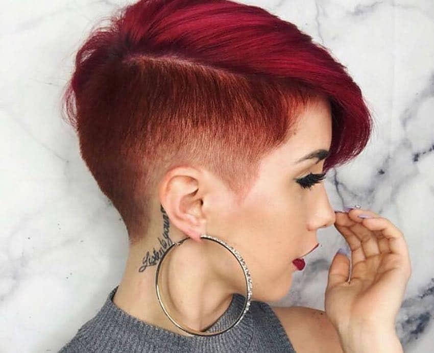 capelli corti colorati estate 2019