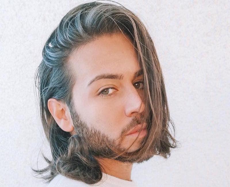 capelli lunghi uomo 2019