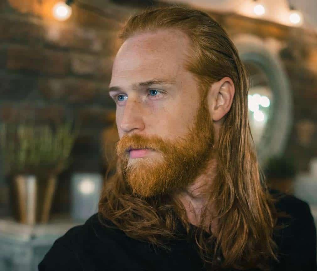 capelli lunghi uomo 2019 stile vichingo