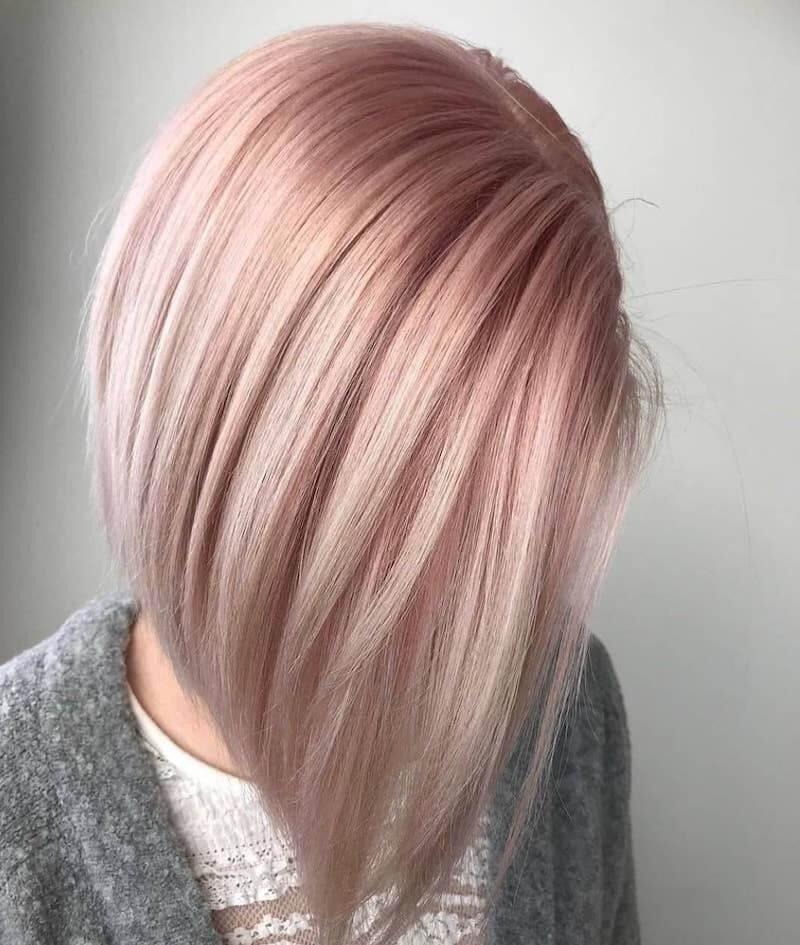 capelli rose gold primavera 2019