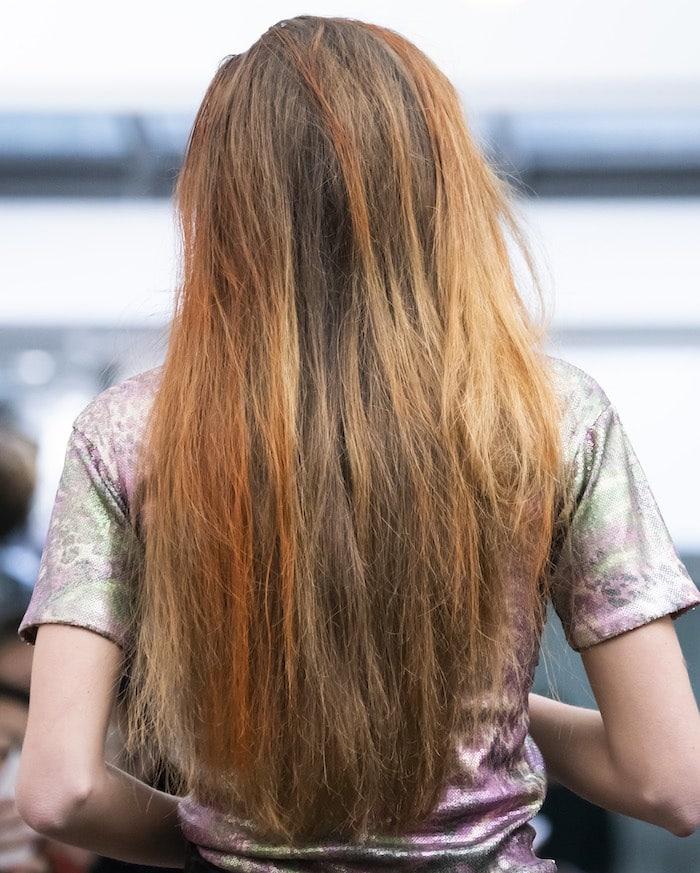 capelli rossi lunghi 2019