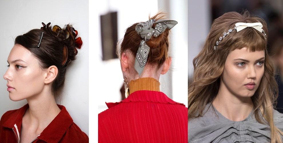 accessori per capelli primavera estate 2019