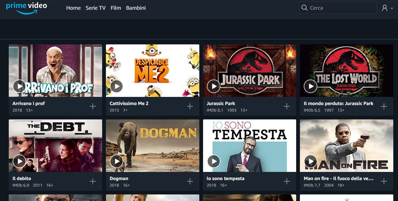 amazon prime video film in streaming