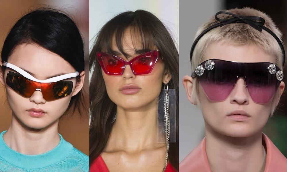 occhiiali moda primavera estate 2019