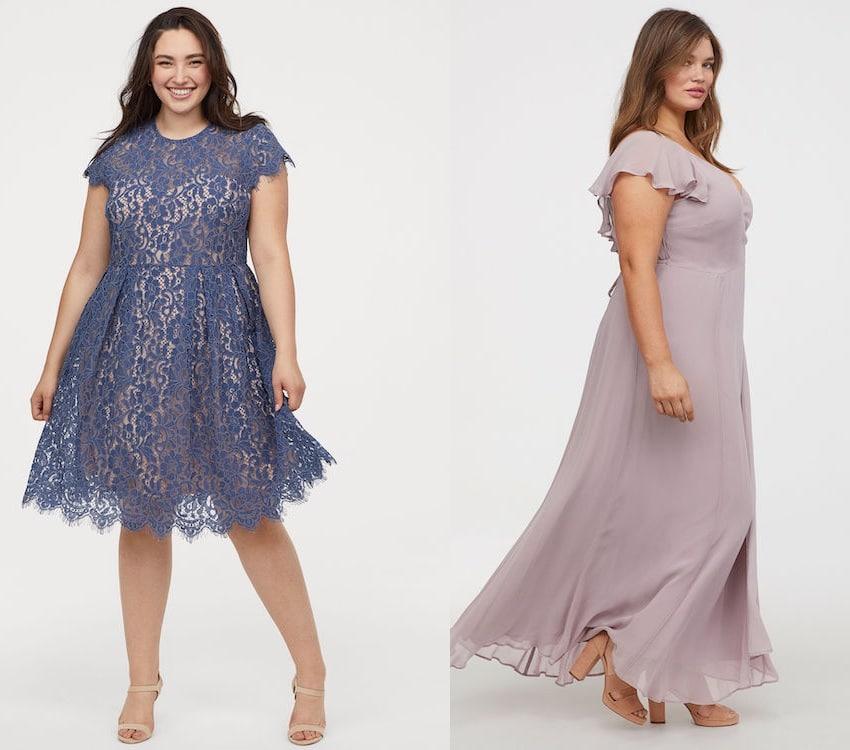 H & M abbigliamento curvy estate 2019