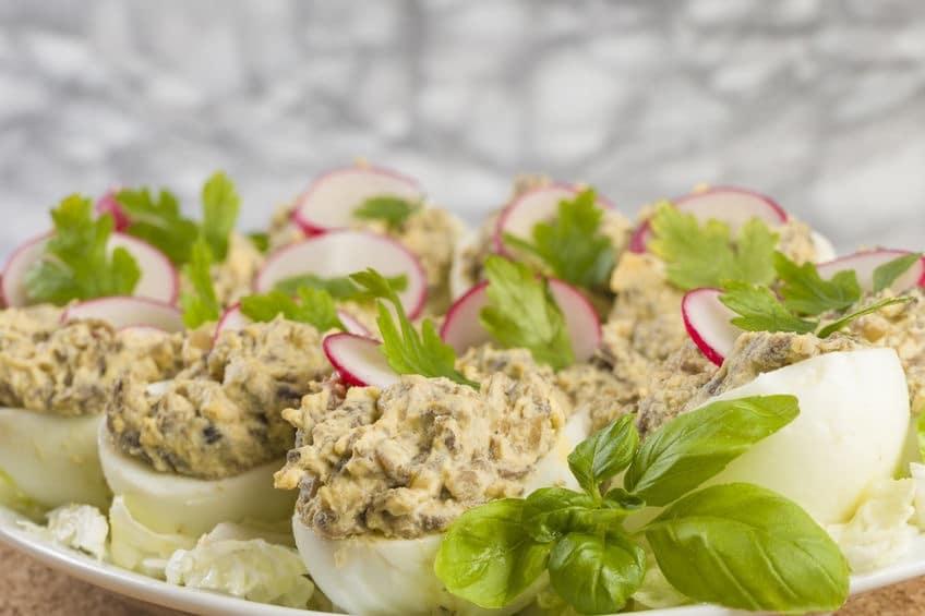Men di pasqua 2019 ricette con funghi cucina ricette for Cucinare uova sode