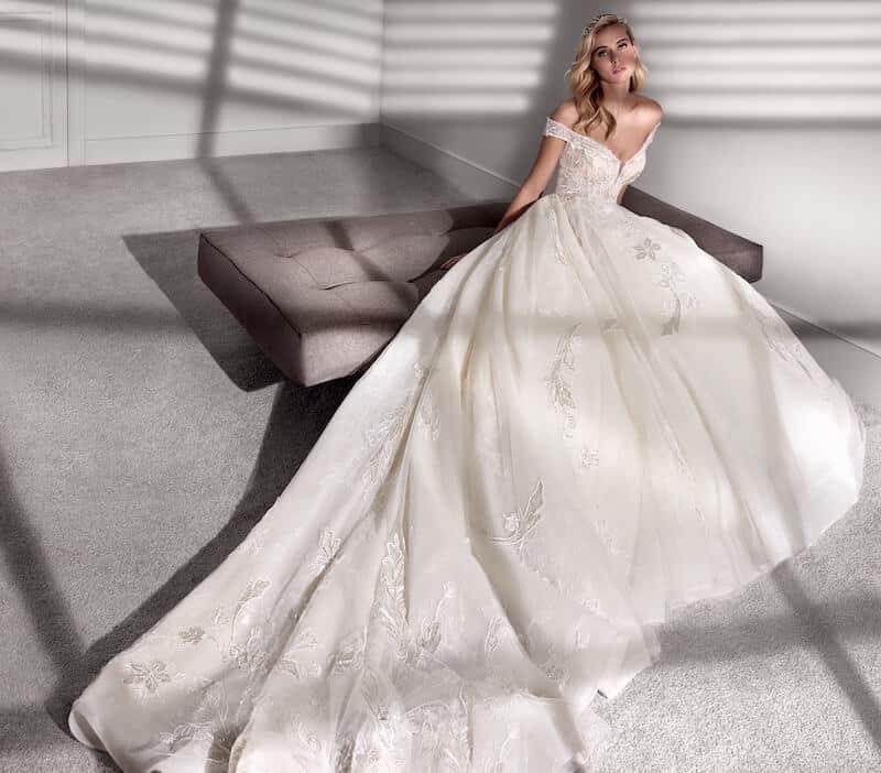 abiti sposa nicole couture 2020