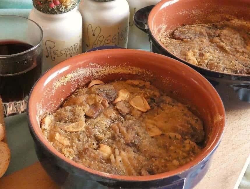 funghi champignon al forno ricetta semplice