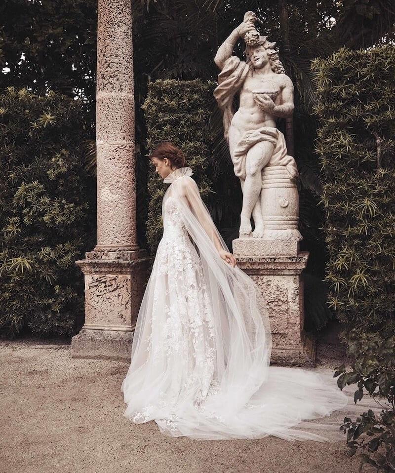 monique-lhuillier-abito da sposa 2020
