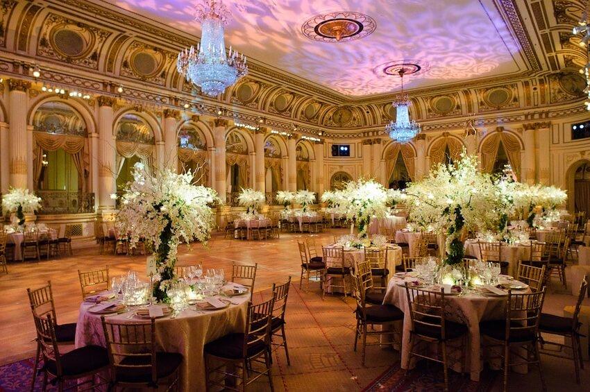 sala da ballo matrimonio usa
