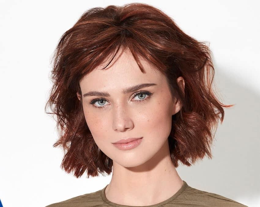taglio medio estate 2019 capelli rossi-intermede