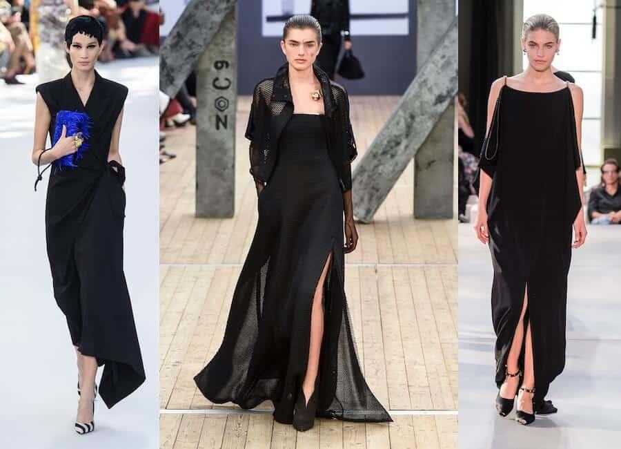 Vestiti Neri Lunghi Eleganti.Vestiti Lunghi Estivi 2019 I Modelli Piu Belli Della Primavera