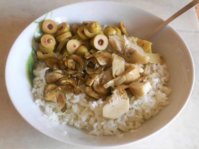 Insalata di riso in agrodolce 2