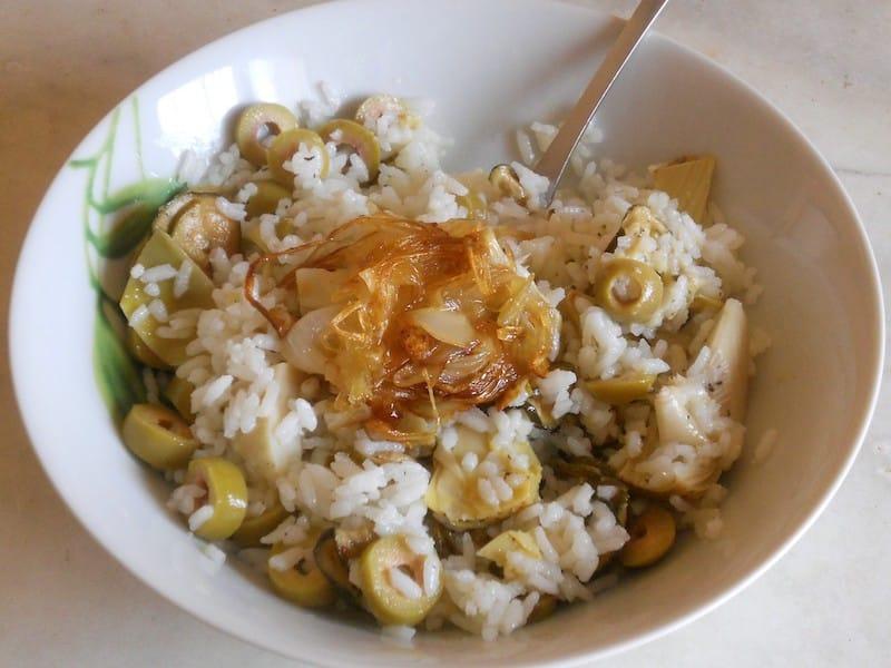 Insalata di riso in agrodolce 3