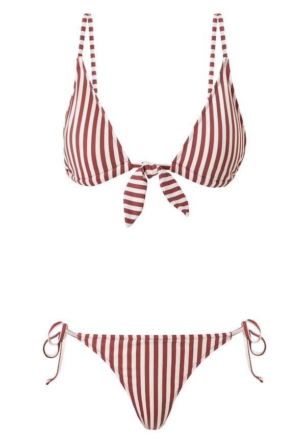 bikini a righe estate 2019
