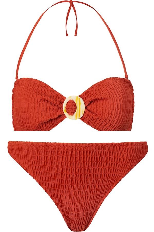 bikini con slip sgambato mango donna 2019
