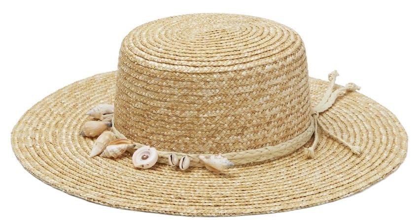 cappello paglia a falda estate 2019