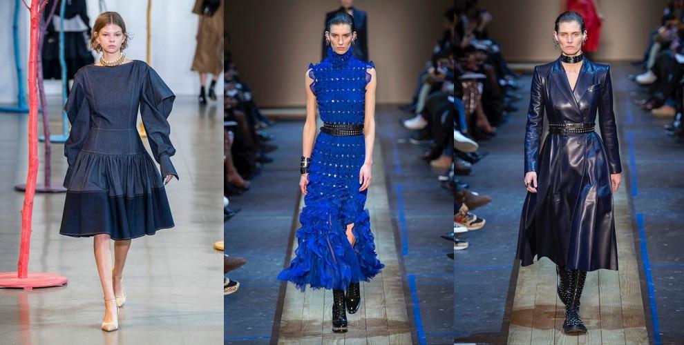 colori moda 2019 2020-abiti blu