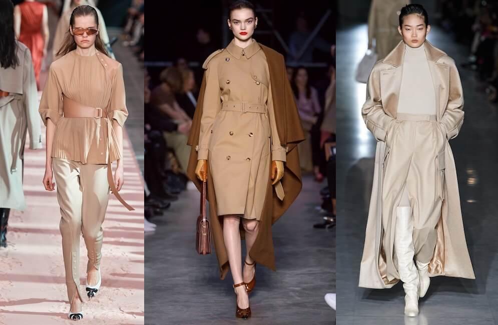 colori moda tendenze inverno 2019-2020-beige
