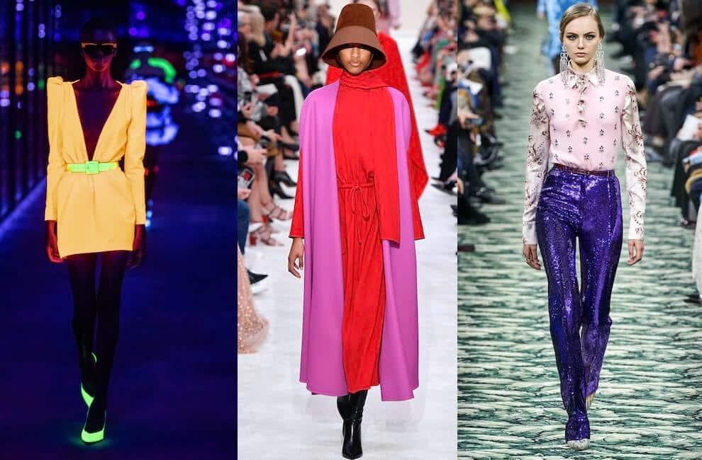 moda 2020 colori audaci