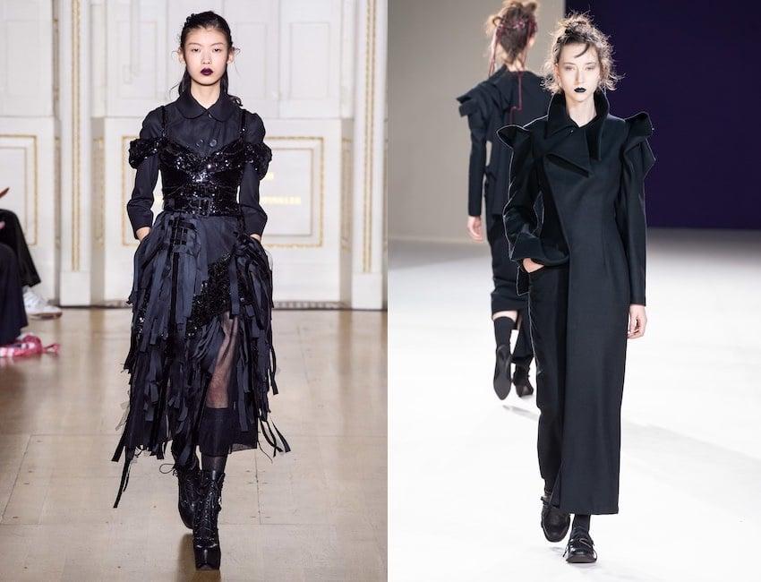 moda 2020 stile gotico