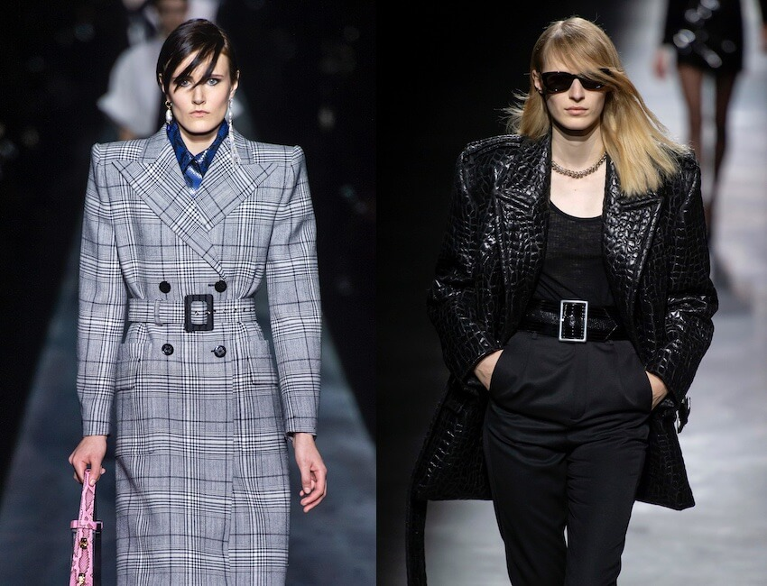 saint laurent givency- moda inverno 2019- 2020