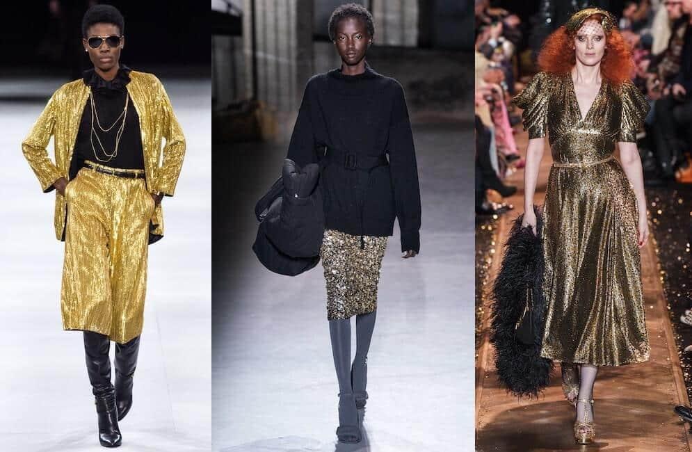 vestiti oro inverno 2019-2020