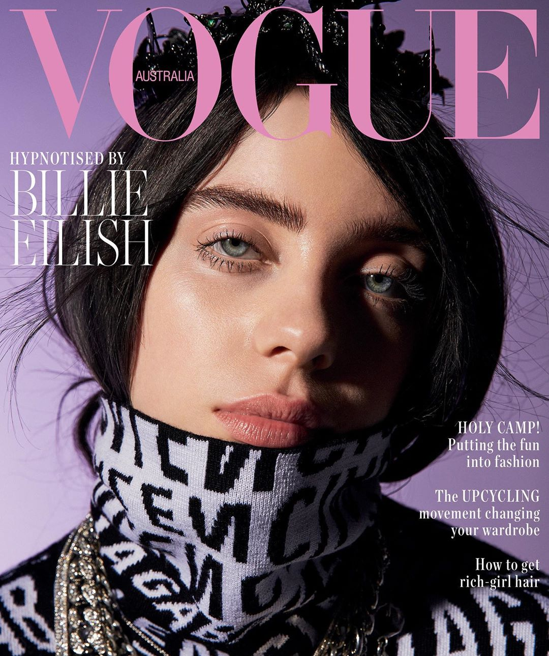 billie eilish vogue