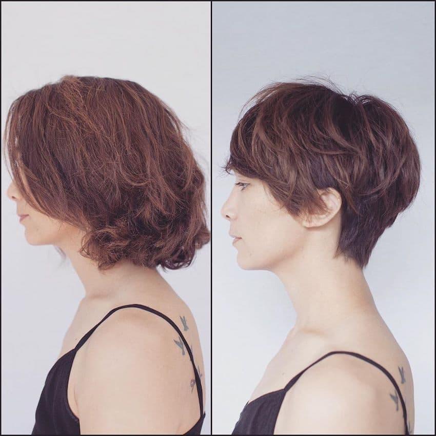 taglio capelli soft pixie cut 2019