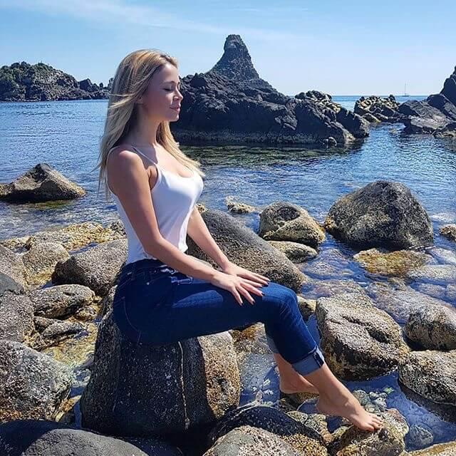 Diletta Leotta instagram sicilia