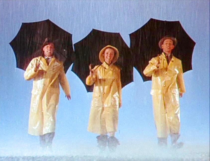 cantando sotto la pioggia film musical