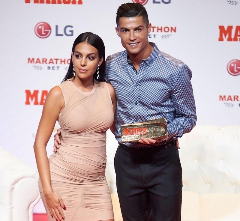 cristiano Ronaldo Georgina Rodriguez -madrid 2019