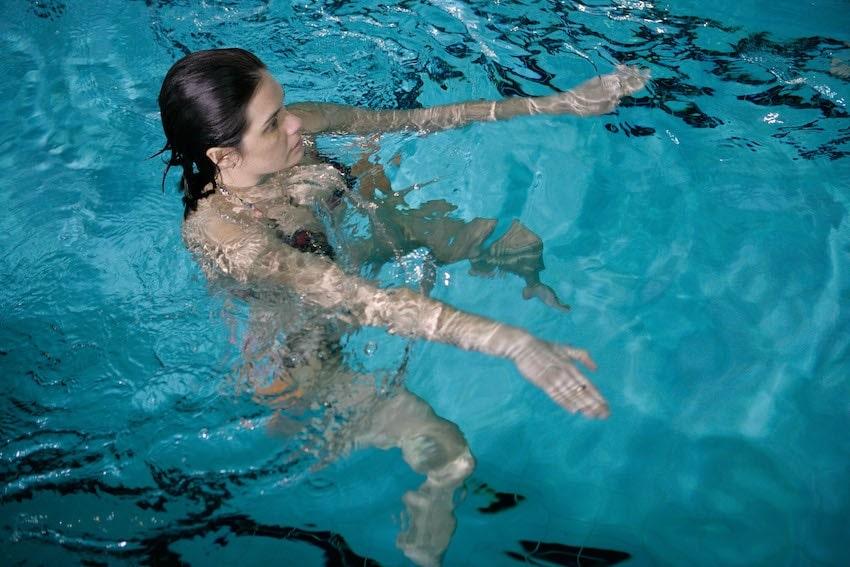 esercizi in acqua donna