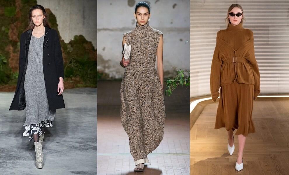 abiti in lana autunno inverno 2019 2020