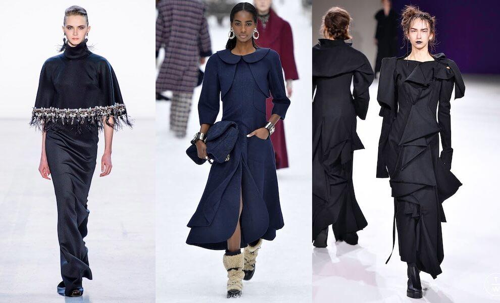 abiti lunghi eleganti inverno 2019 2020