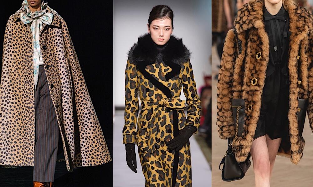cappotti animalier inverno 2019 2020