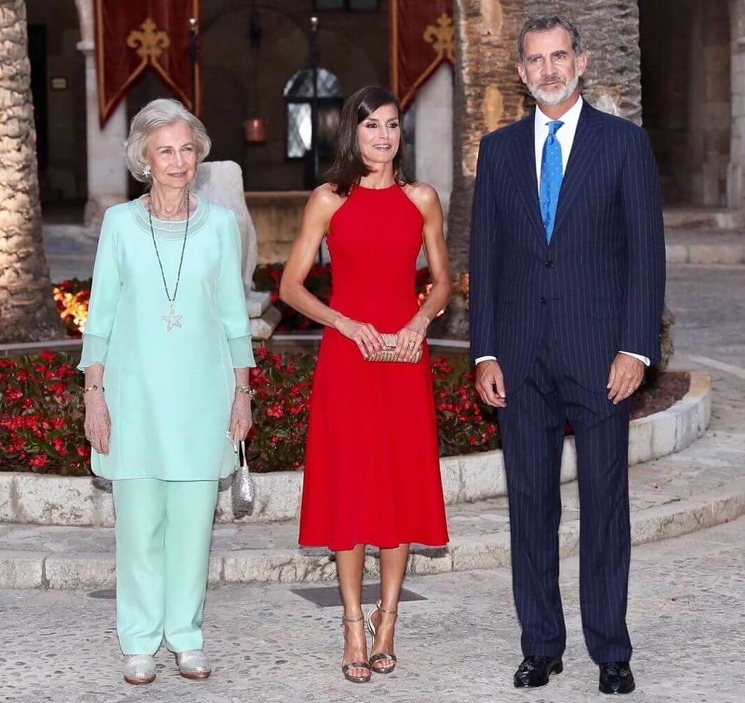 famiglia reale spagnola maiorca 7 agosto 2019
