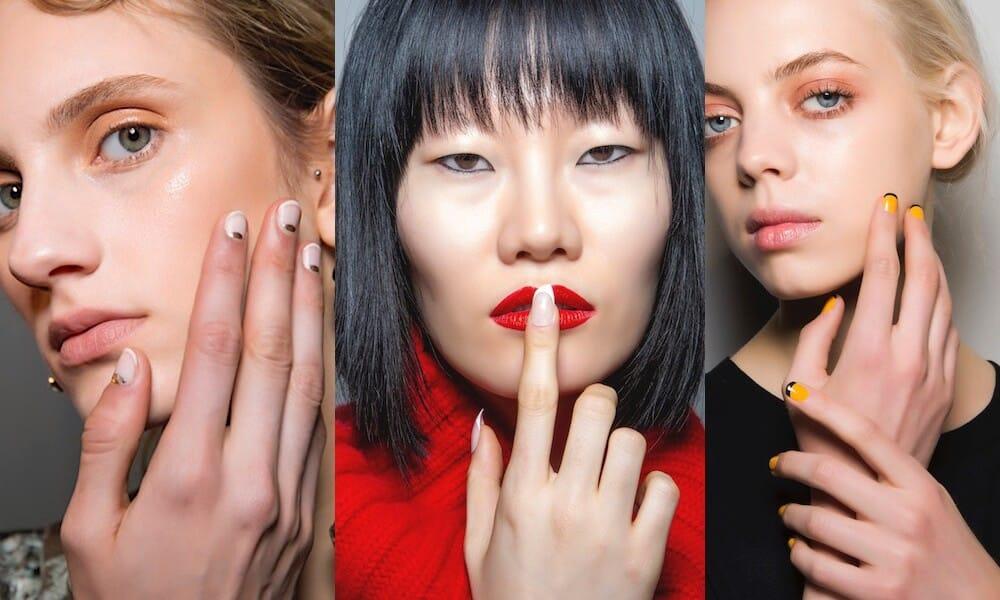 french manicure inverno 2019 2020-