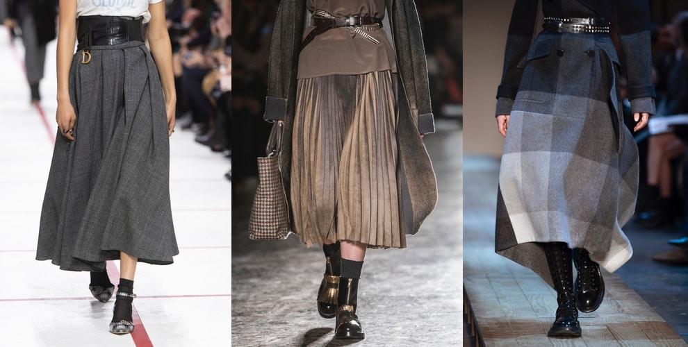 gonne lunghe moda inverno 2019 2020