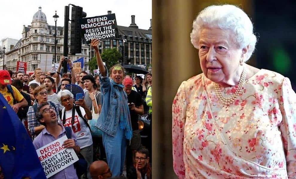regina elisabetta brexit agosto 2019