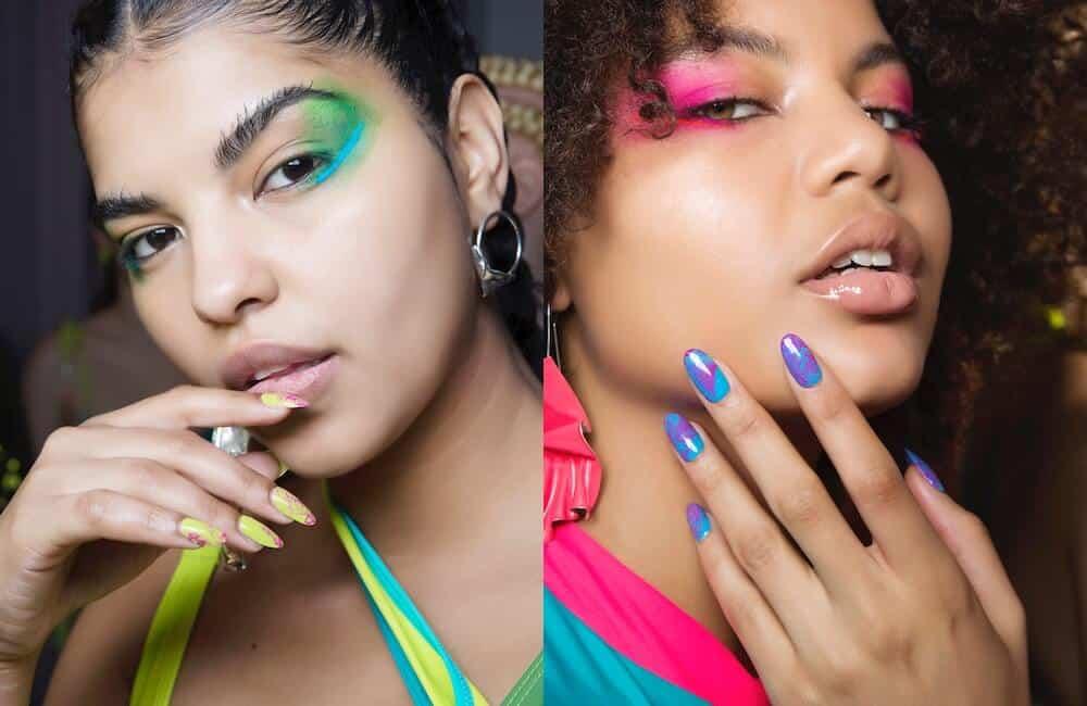 unghie nail art autunno 2019