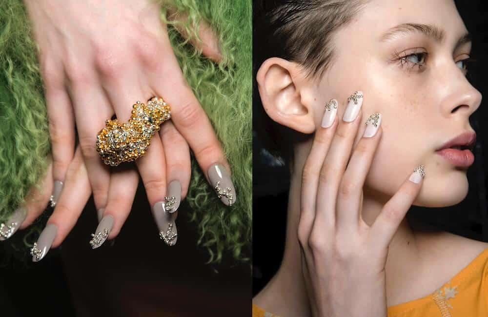unghie nail art inverno 2020