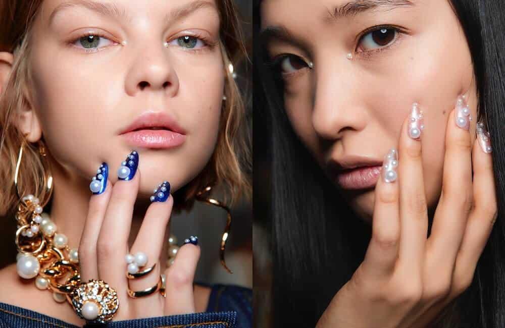unghie nail art tendenze inverno 2020