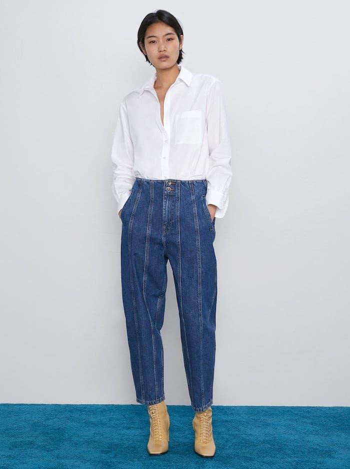 Jeans slouchy zara autunno 2019