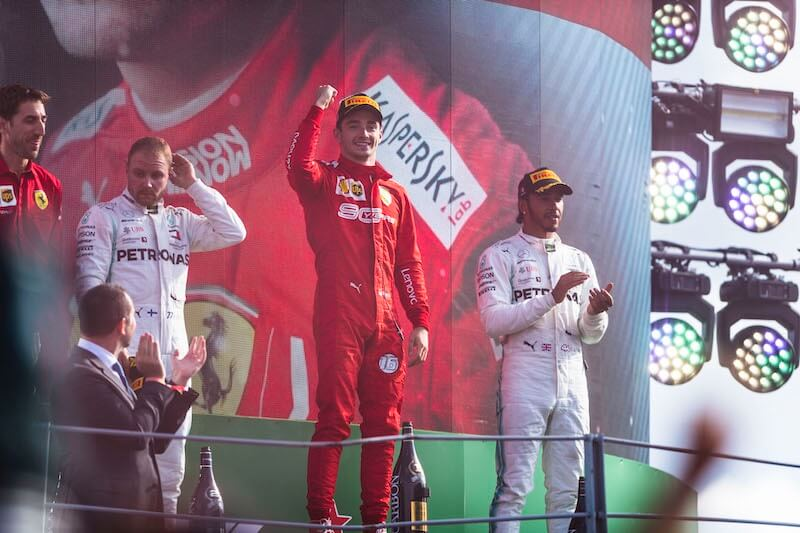 Leclerc Monza Formula uno 2019