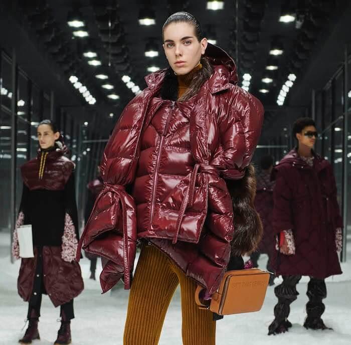 Moncler piumino moda inverno 2019 2020