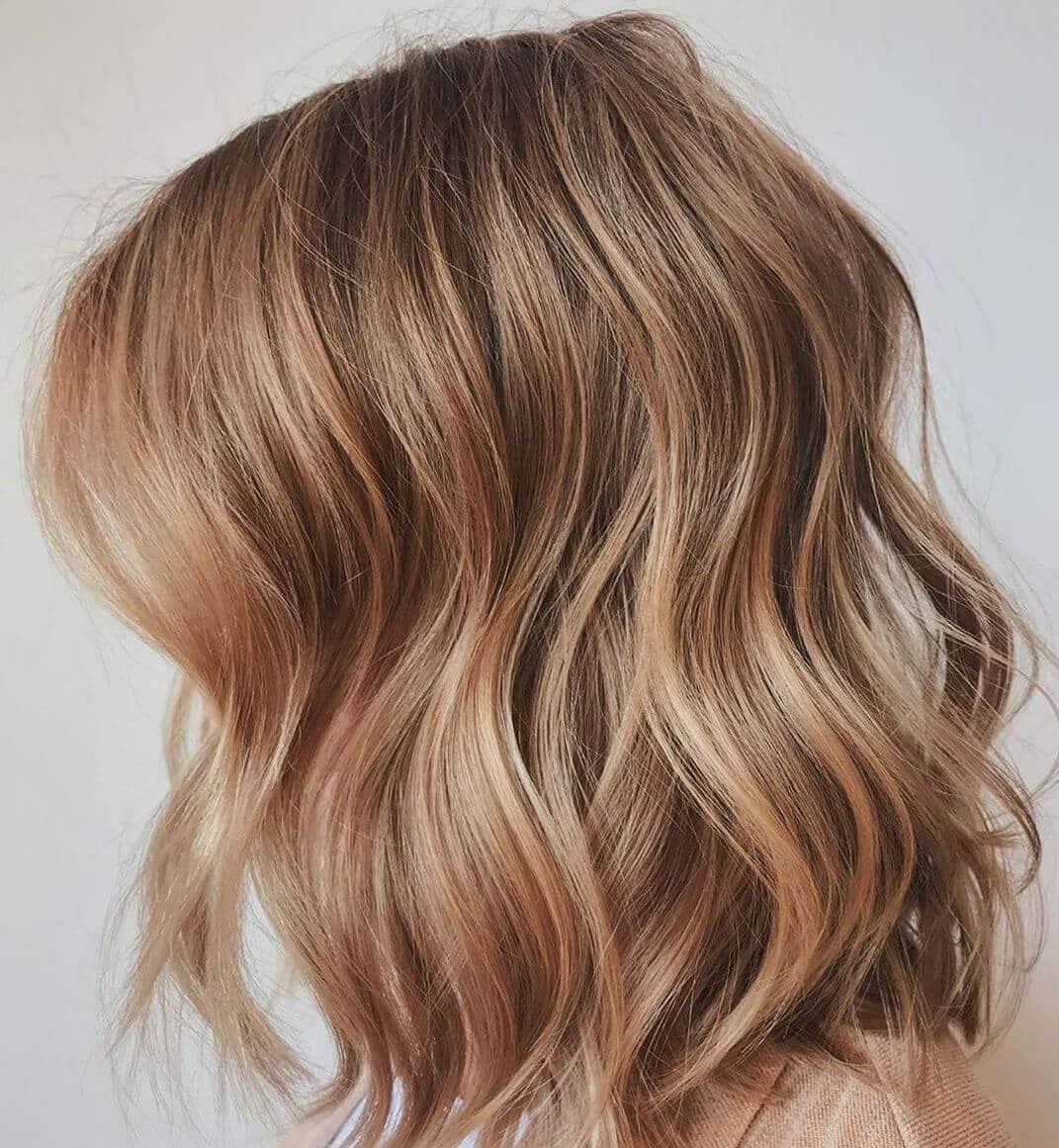 capelli biondo caramello inverno 2019-2020