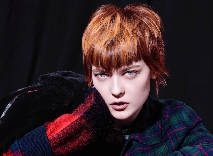 capelli rossi tagli e colori autunno 2019 Framesi